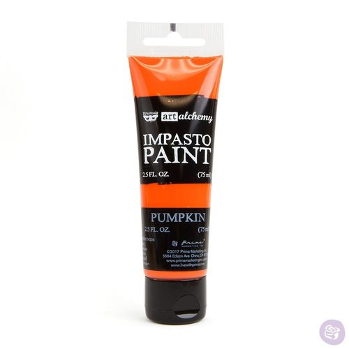 Pumpkin - Impasto Paint Prima Marketing