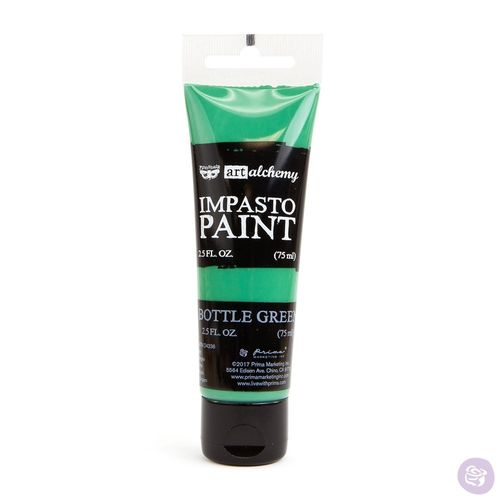Bottle Green - Impasto Paint Prima Marketing