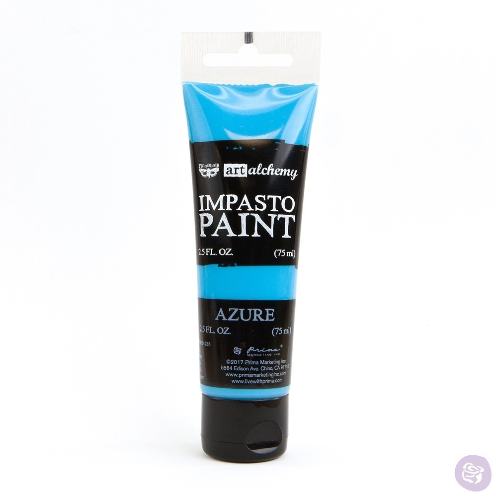 Azure - Impasto Paint Prima Marketing