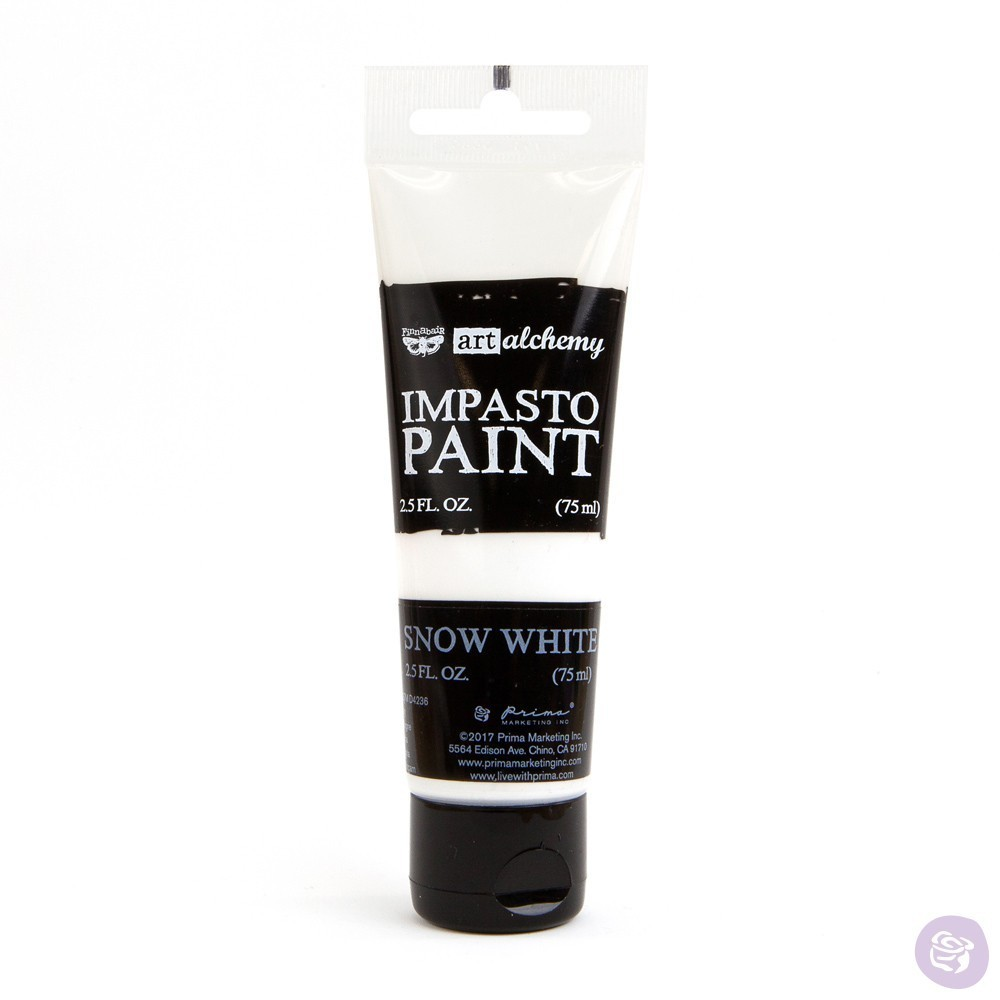 Snow White - Impasto Paint Prima Marketing