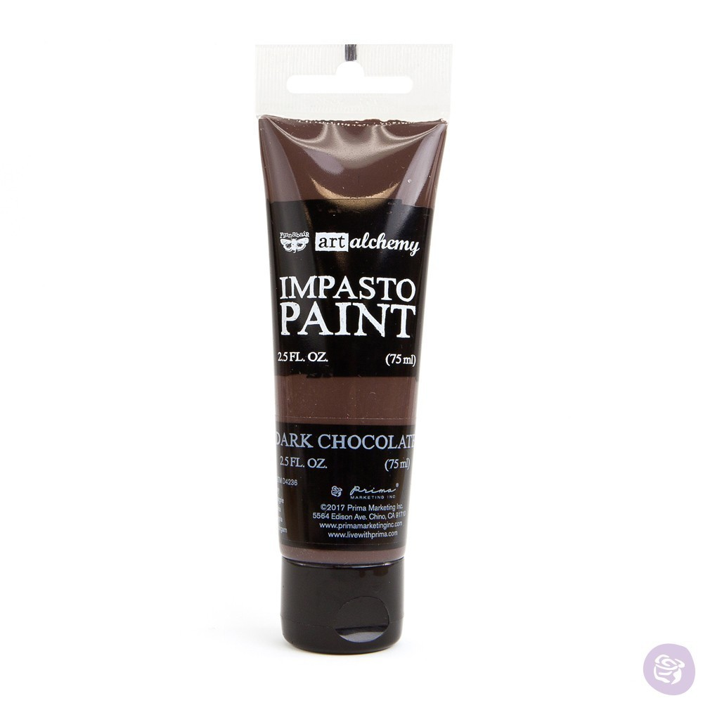 Dark Chocolate - Impasto Paint Prima Marketing
