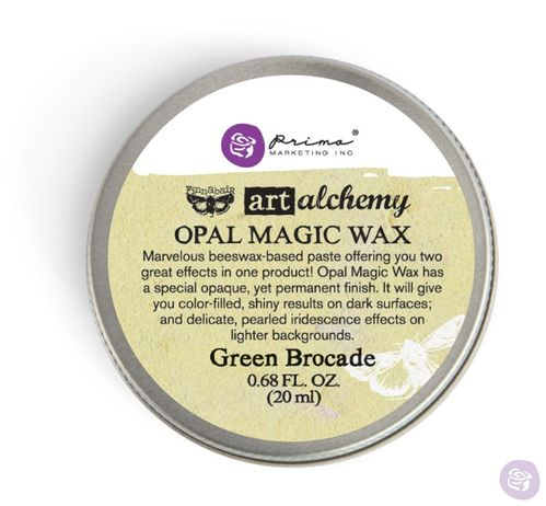 Green Brocade - Opal Magic Wax Prima Marketing