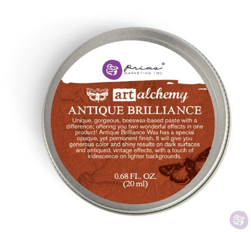 Red Amber - Antique Brilliance Prima Marketing