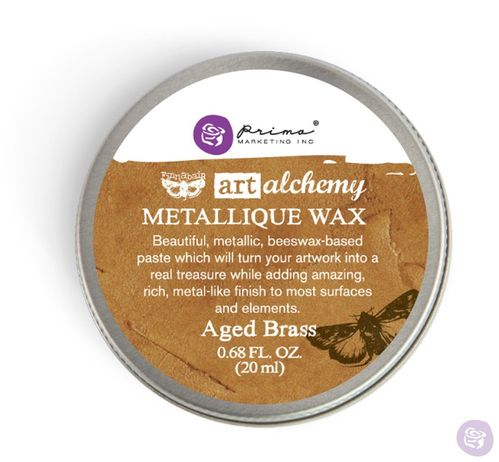 Aged Brass - Metallic Wax Prima Marketing