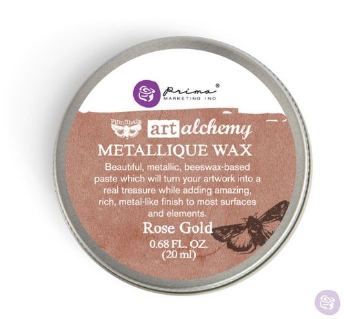 Rose Gold - Metallic Wax Prima Marketing