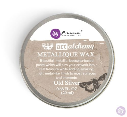 Old Silver - Metallic Wax Prima Marketing