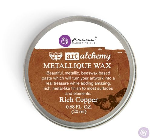 Rich Copper - Metallic Wax Prima Marketing