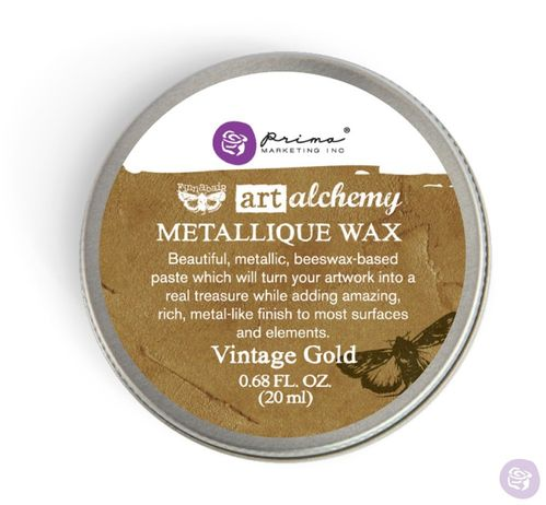 Vintage Gold - Metallic Wax Prima Marketing