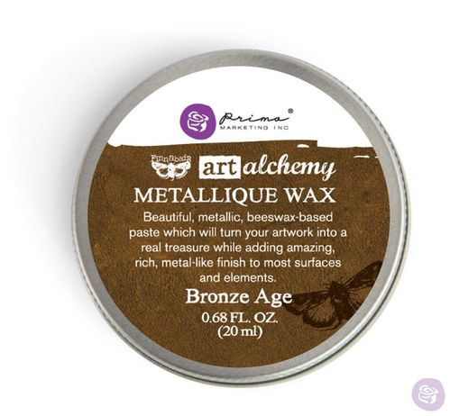 Bronze Age - Metallic Wax Prima Marketing