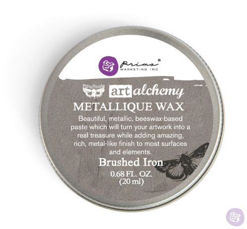 Brushed Iron - Metallic Wax Prima Marketing