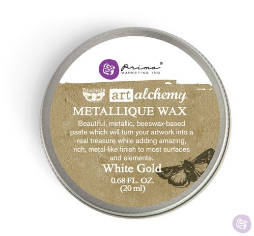 White Gold - Metallic Wax Prima Marketing