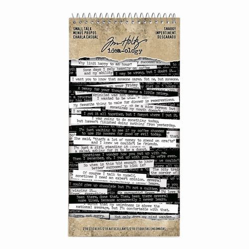 Tim Holtz - Ideaology - Small Talk Snarky