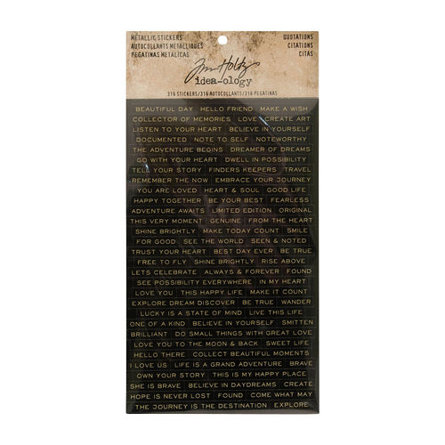 Tim Holtz - Ideaology - Quotations