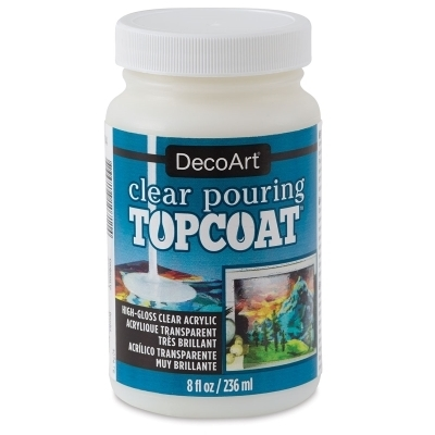 Pouring Clear Topcoat Decoart