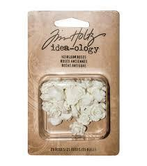 Tim Holtz - Ideaology - Heirloom Roses