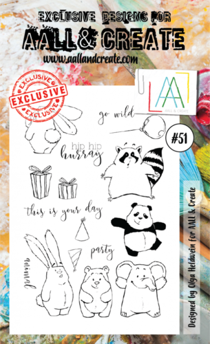 Stamp #51 - AALL & Create