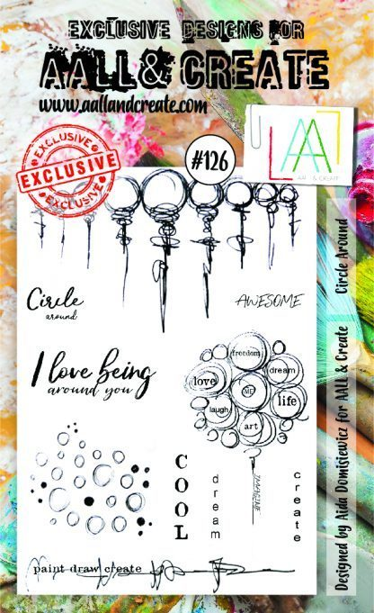 Stamp #126 - AALL & Create