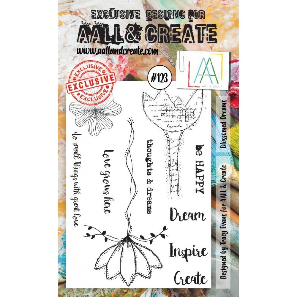 Stamp #123 - AALL & Create