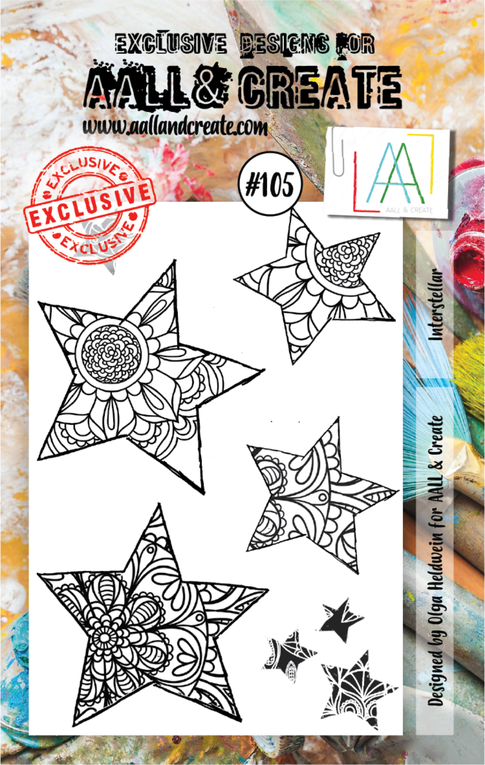Stamp #105 - AALL & Create