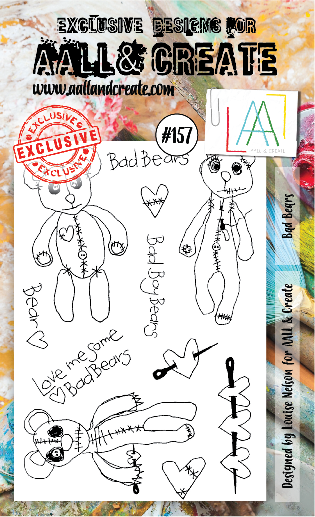Stamp #157 - AALL & Create