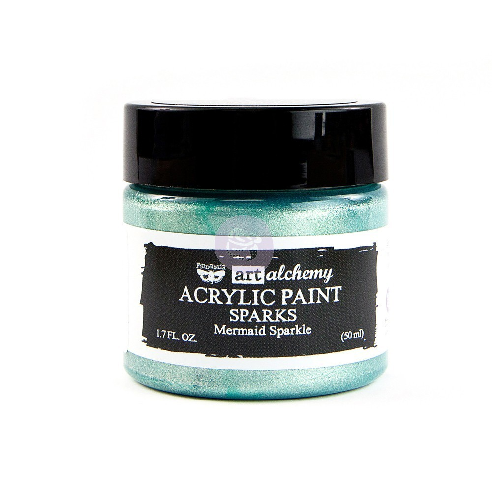 Mermaid Sparkle - Acrylic Paint Sparks Prima Marketing