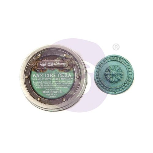 Mint Sparkle - Metallic Wax Prima Marketing