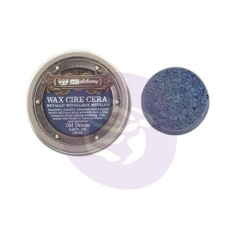 Old Denim - Metallic Wax Prima Marketing
