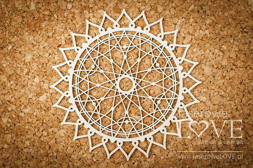 Chipboard - Mandala 10