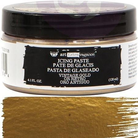 Icing Paste Art Extravagance Prima Marketing - Vintage Gold