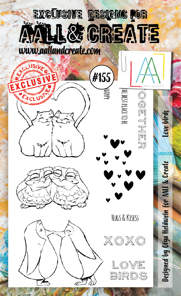 Stamp #155 - AALL & Create