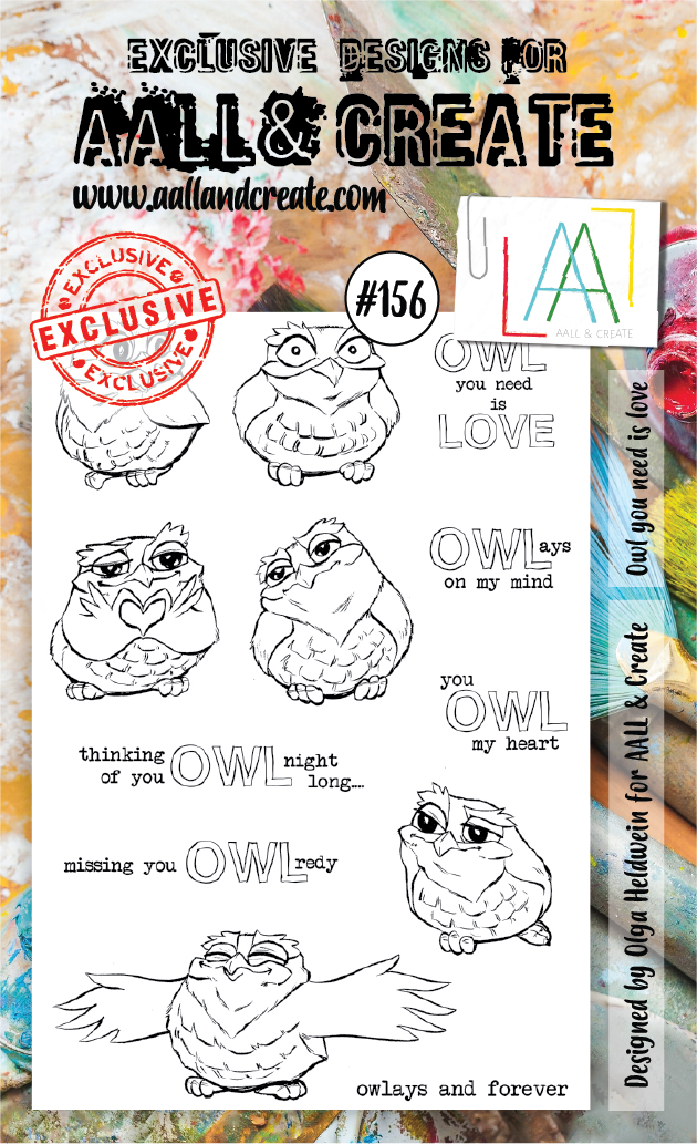 Stamp #156 - AALL & Create