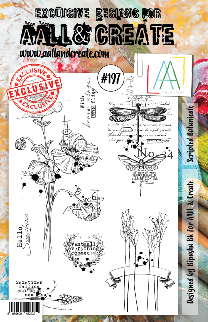 Stamp #197 - AALL & Create