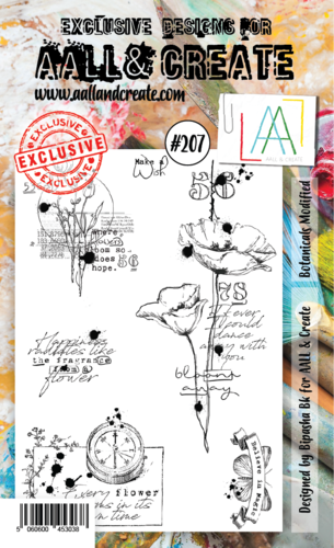Stamp #207 - AALL & Create