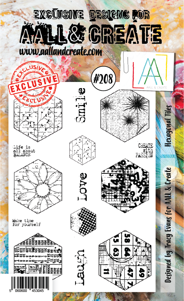 Stamp #208 - AALL & Create