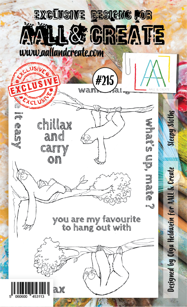 Stamp #215 - AALL & Create