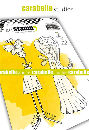 Cling Stamp A6: Angels - Carabelle Studio