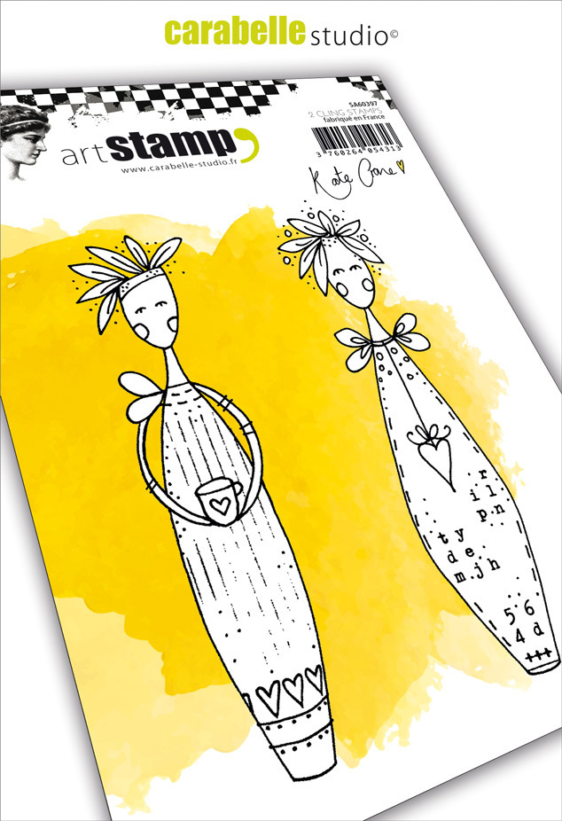 Cling Stamp A6: Lolly Dolly - Carabelle Studio