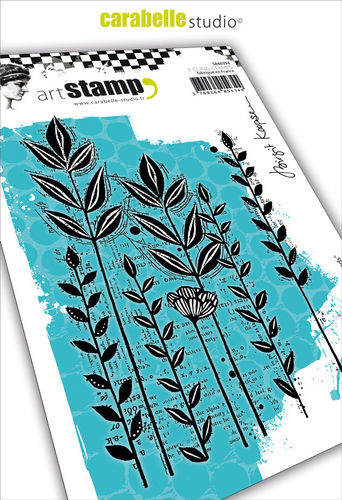 Cling Stamp A6: Roadside Weeds by Birgit Koopsen - Carabelle Studio