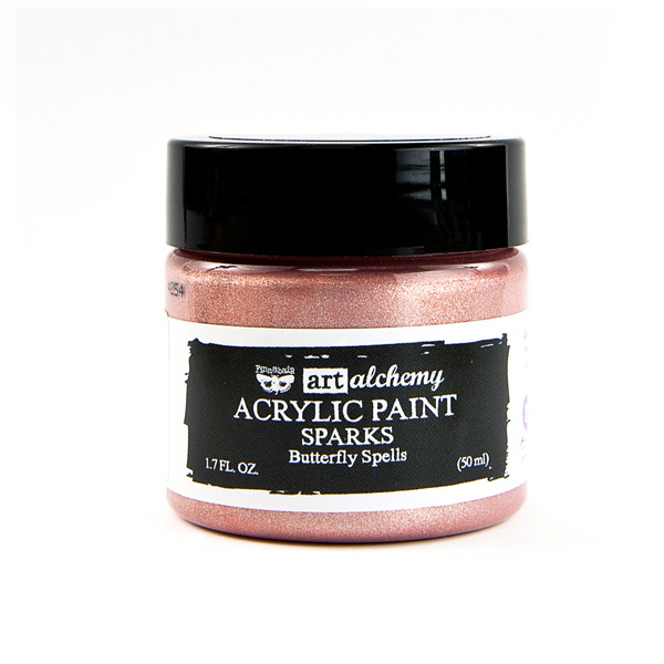 Butterfly Spells - Acrylic Paint Sparks Prima Marketing