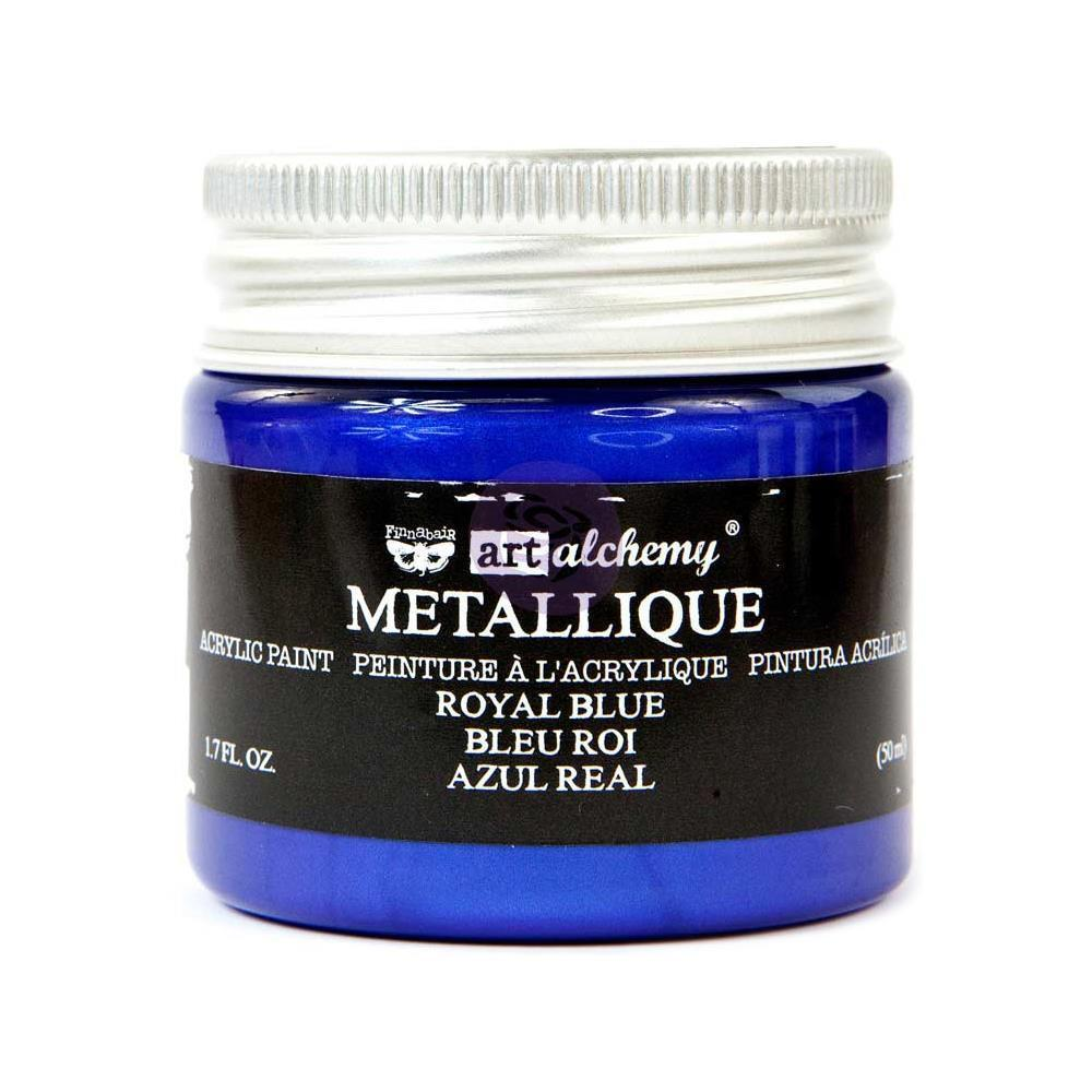 Royal Blue - Acrylic Paint Metallique Prima Marketing