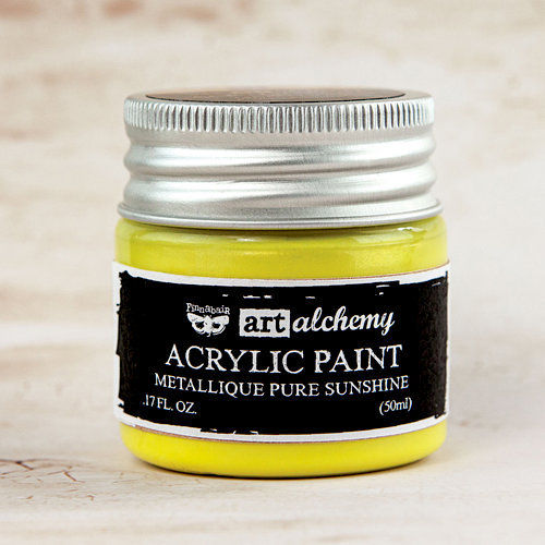 Pure Sunshine - Acrylic Paint Metallique Prima Marketing