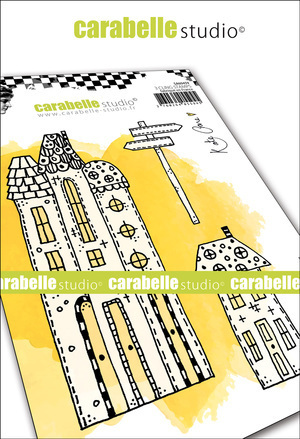 Cling Stamp A6: Our Street - Carabelle Studio