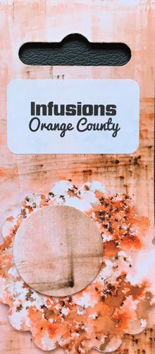 Orange Country - Infusions Dye PaperArtsy