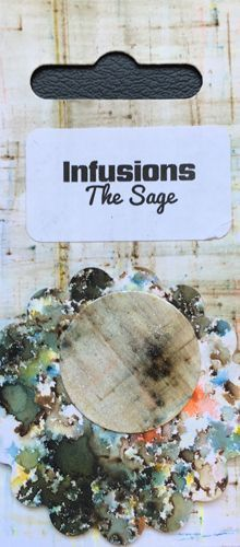 The Sage - Infusions Dye PaperArtsy