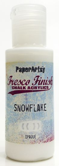 Snowflake - Fresco Finish PaperArtsy