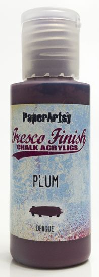 Plum - Fresco Finish PaperArtsy