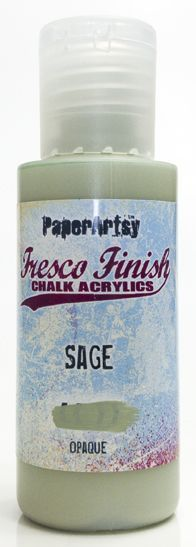Sage - Fresco Finish PaperArtsy