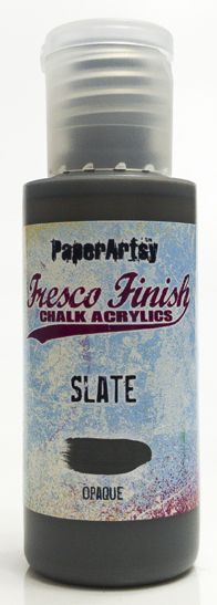 Slate - Fresco Finish PaperArtsy