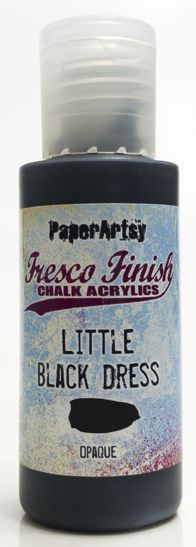 Little Black Dress - Fresco Finish PaperArtsy