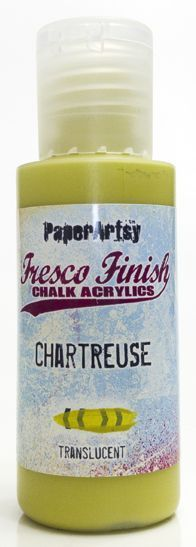 Chartreuse - Fresco Finish PaperArtsy